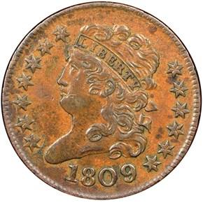 1809/6 C-5 1/2C MS obverse