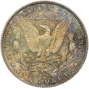 1900 S S$1 MS reverse