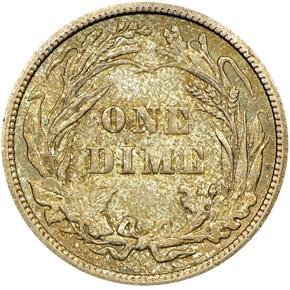 1906 10C MS reverse