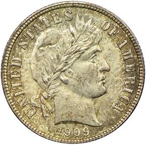 1909 10C MS obverse