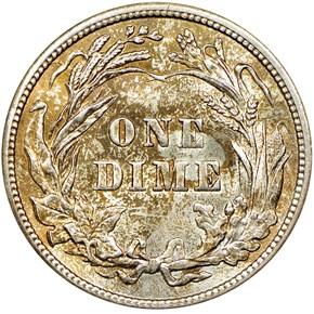 1915 10C MS reverse