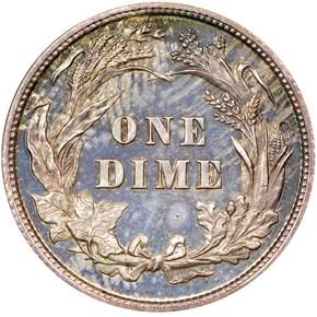 1896 10C PF reverse