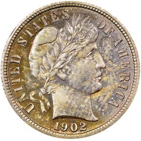 1902 10C PF obverse