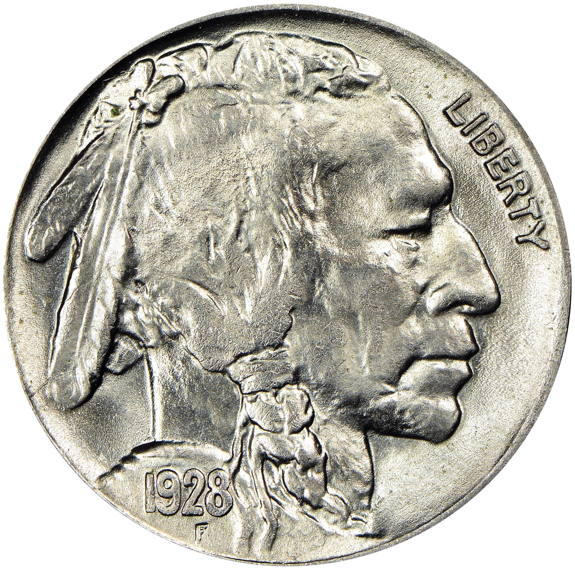 1928 5C MS Buffalo Five Cents | NGC