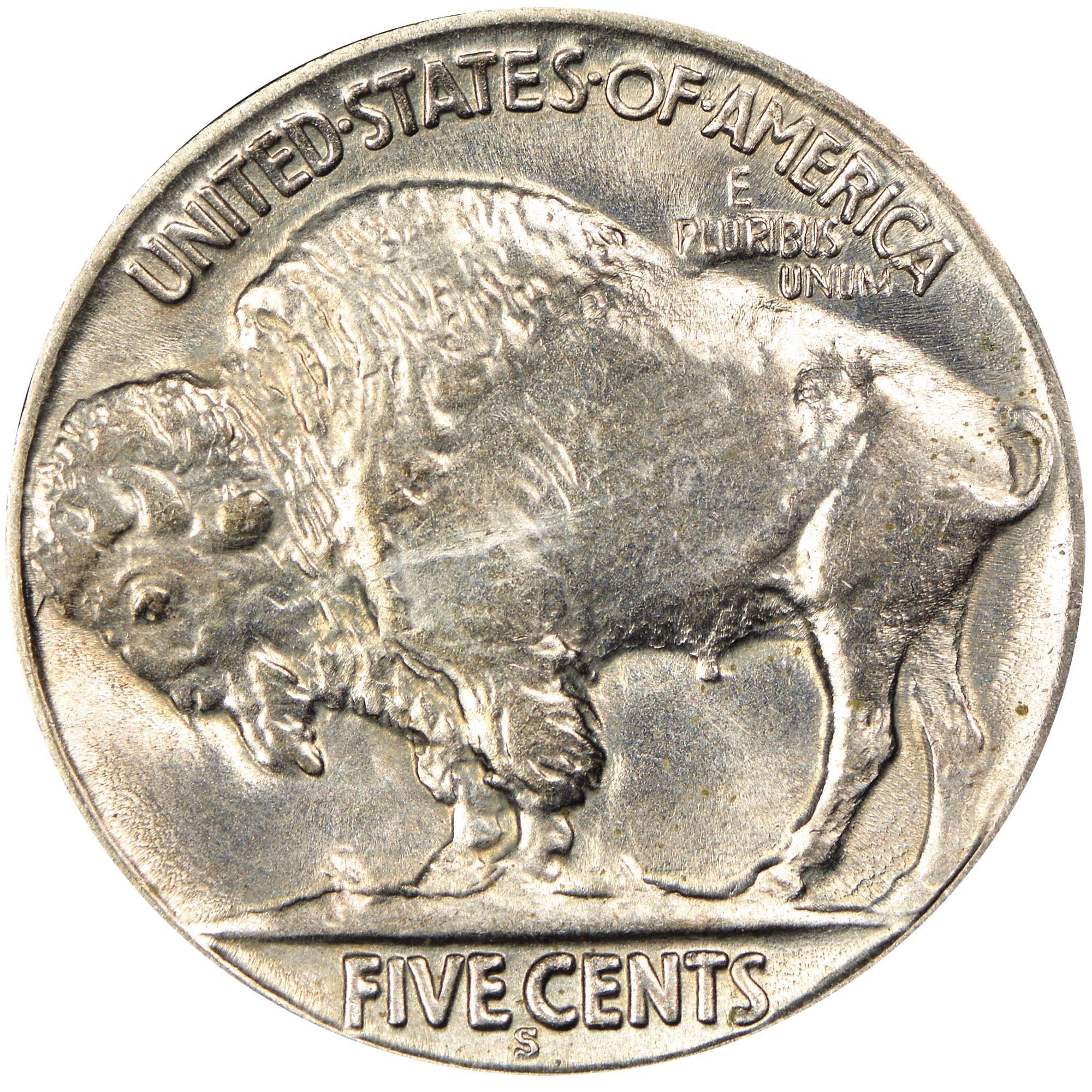 1923-S Buffalo Nickel in Very Good