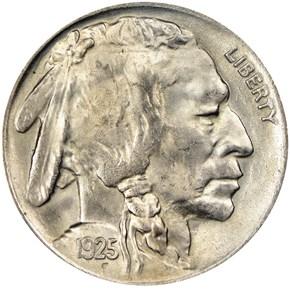 1925 5C MS obverse