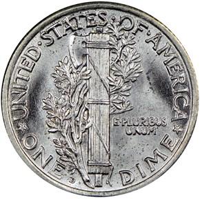 1924 D 10C MS reverse