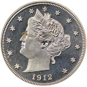 1912 5C PF obverse