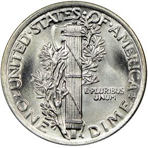 1918 10C MS reverse