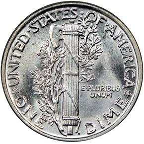 1929 10C MS reverse