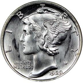 1929 S 10C MS obverse