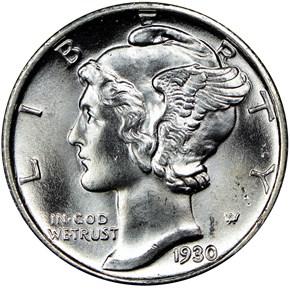 1930 10C MS obverse