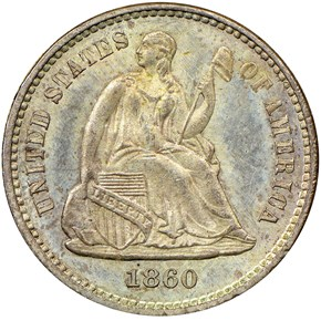 1860 H10C MS obverse