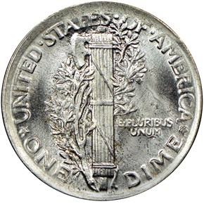 1920 10C MS reverse