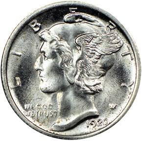 1920 S 10C MS obverse