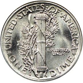 1920 S 10C MS reverse