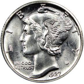1927 S 10C MS obverse