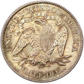 1876 CC 50C MS reverse
