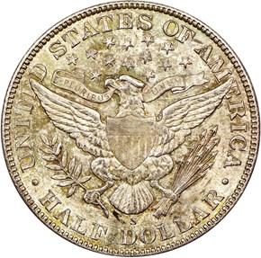 1906 S 50C MS reverse