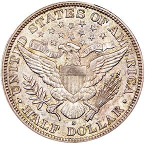 1894 S 50C MS reverse