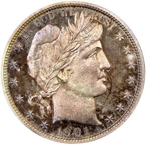 1901 50C PF obverse