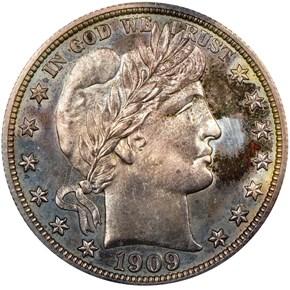 1909 50C PF obverse