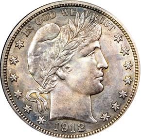 1912 50C PF obverse
