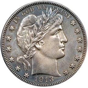 1913 50C PF obverse