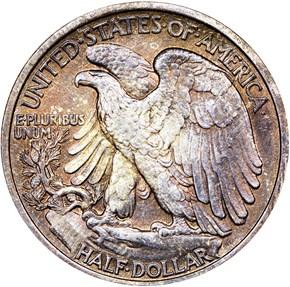 1916 D 50C MS reverse