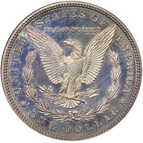 1881 S$1 PF reverse