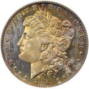 1882 S$1 PF obverse
