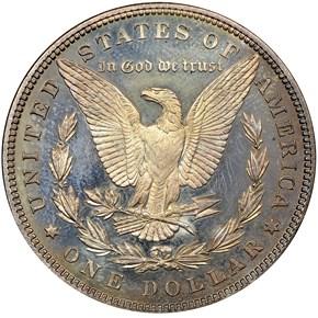 1882 S$1 PF reverse
