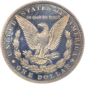 1888 S$1 PF reverse