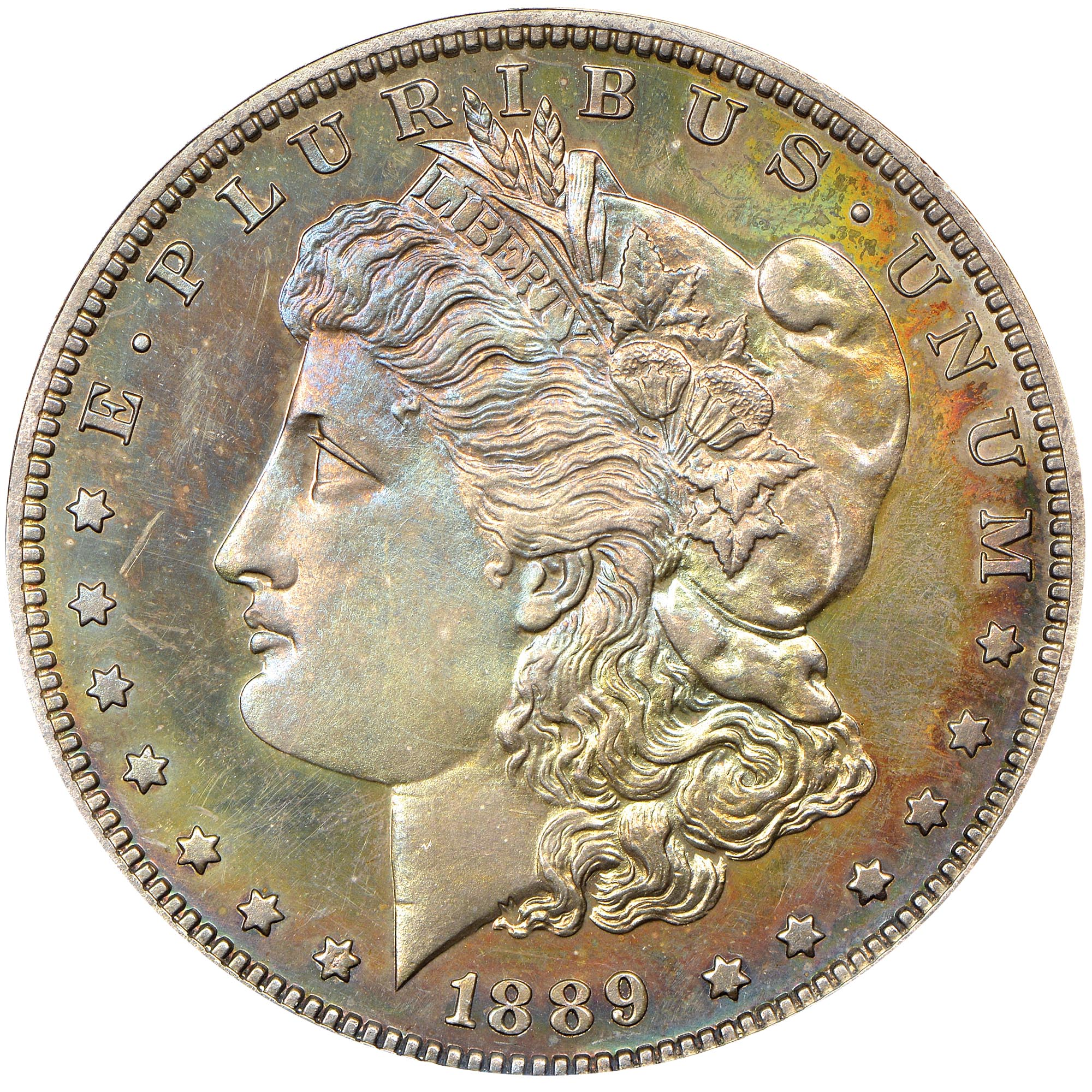 1889 1 Pf Morgan Dollars Ngc