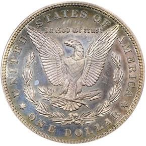 1889 $1 PF reverse