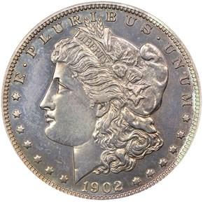 1902 $1 PF obverse