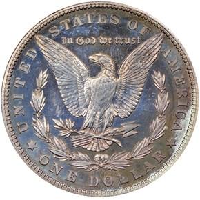 1902 $1 PF reverse