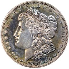1903 S$1 PF obverse