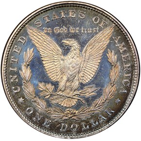 1878 8TF S$1 PF reverse