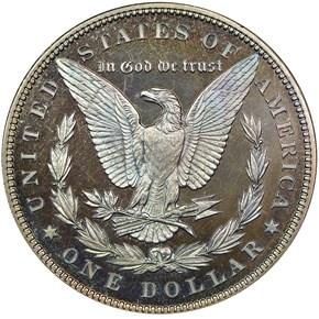 1896 S$1 PF reverse