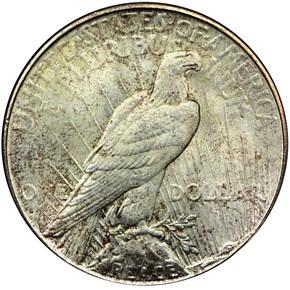 1926 S S$1 MS reverse