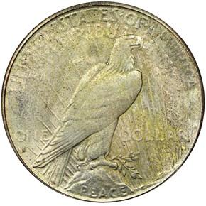 1928 S S$1 MS reverse