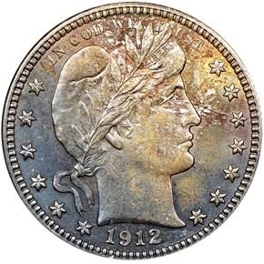 1912 25C MS obverse