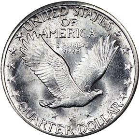 1924 S 25C MS reverse