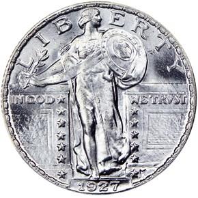 1927 25C MS obverse