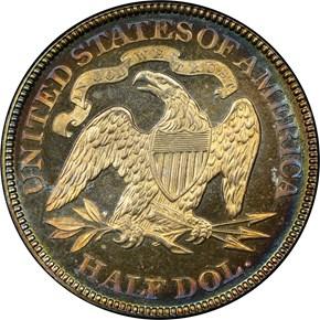 1891 50C PF reverse
