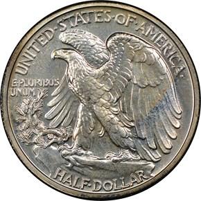 1941 50C PF reverse