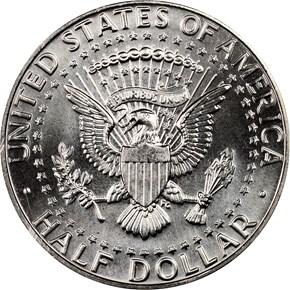 1988 D 50C MS reverse