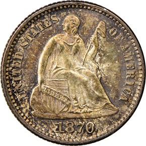 1870 H10C MS obverse