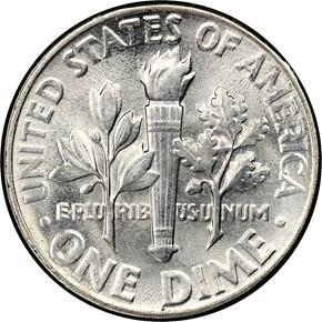 1953 10C MS reverse